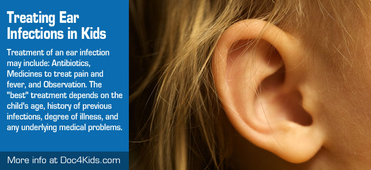 Natural cure for middle ear infection in adults